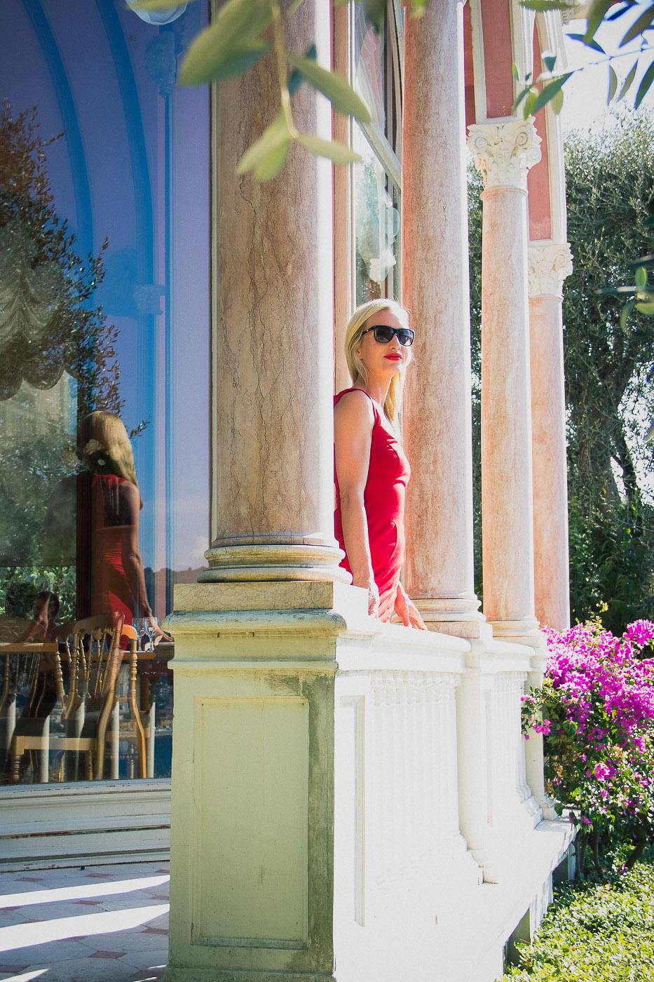 Portrait female France Summer rosephotography