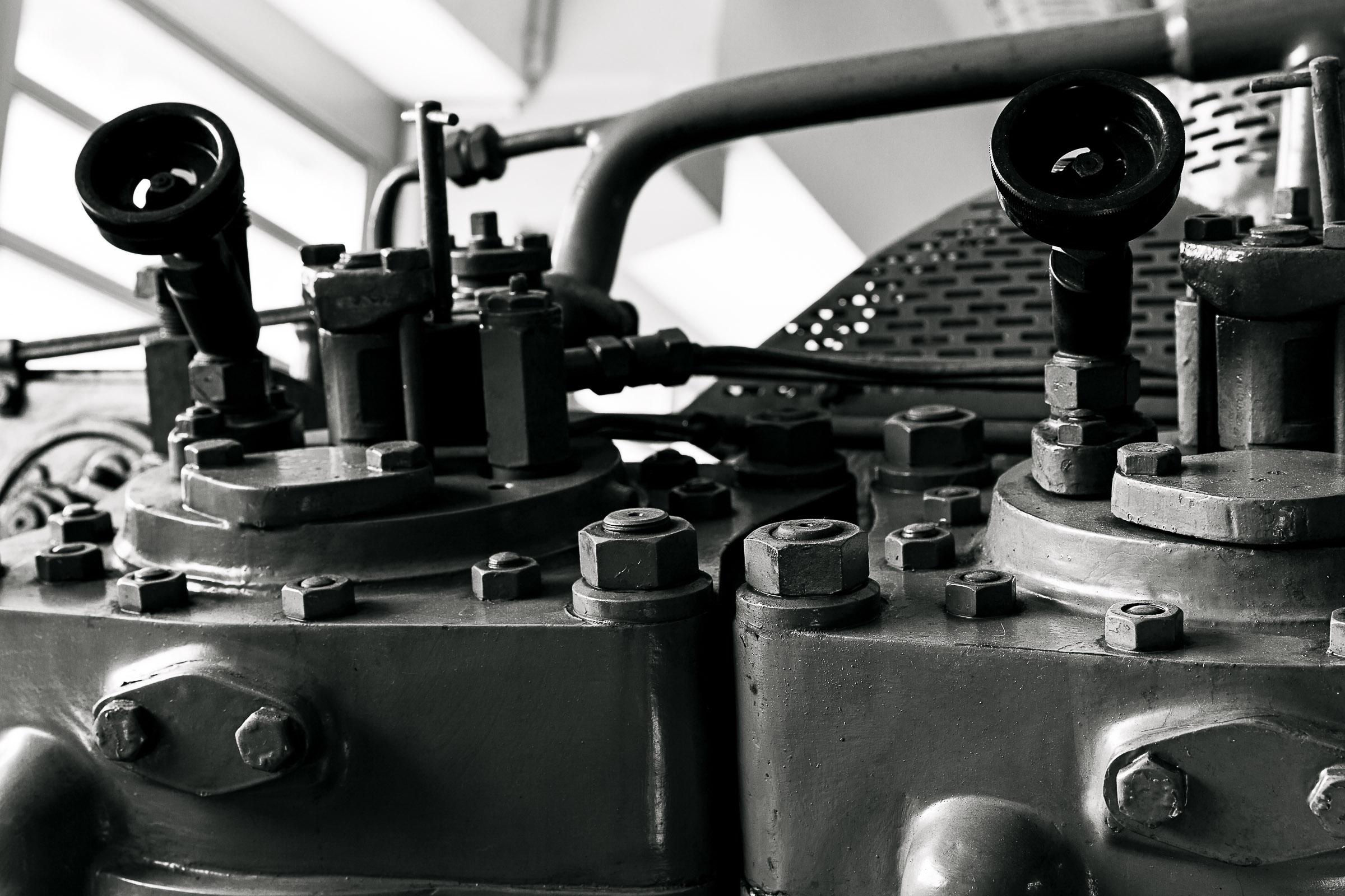 Deutz engine grey mood