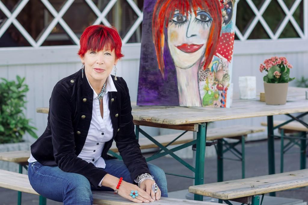 portrait color website