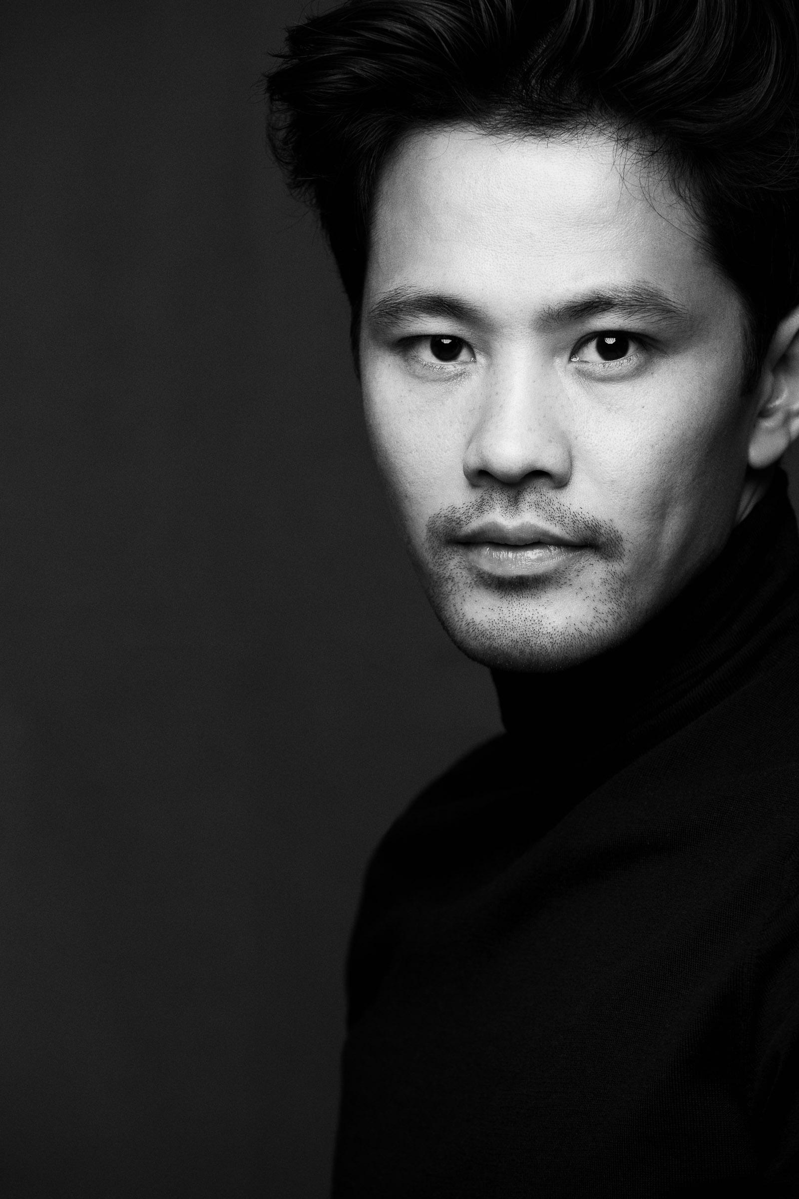 portrait black&white linh 2